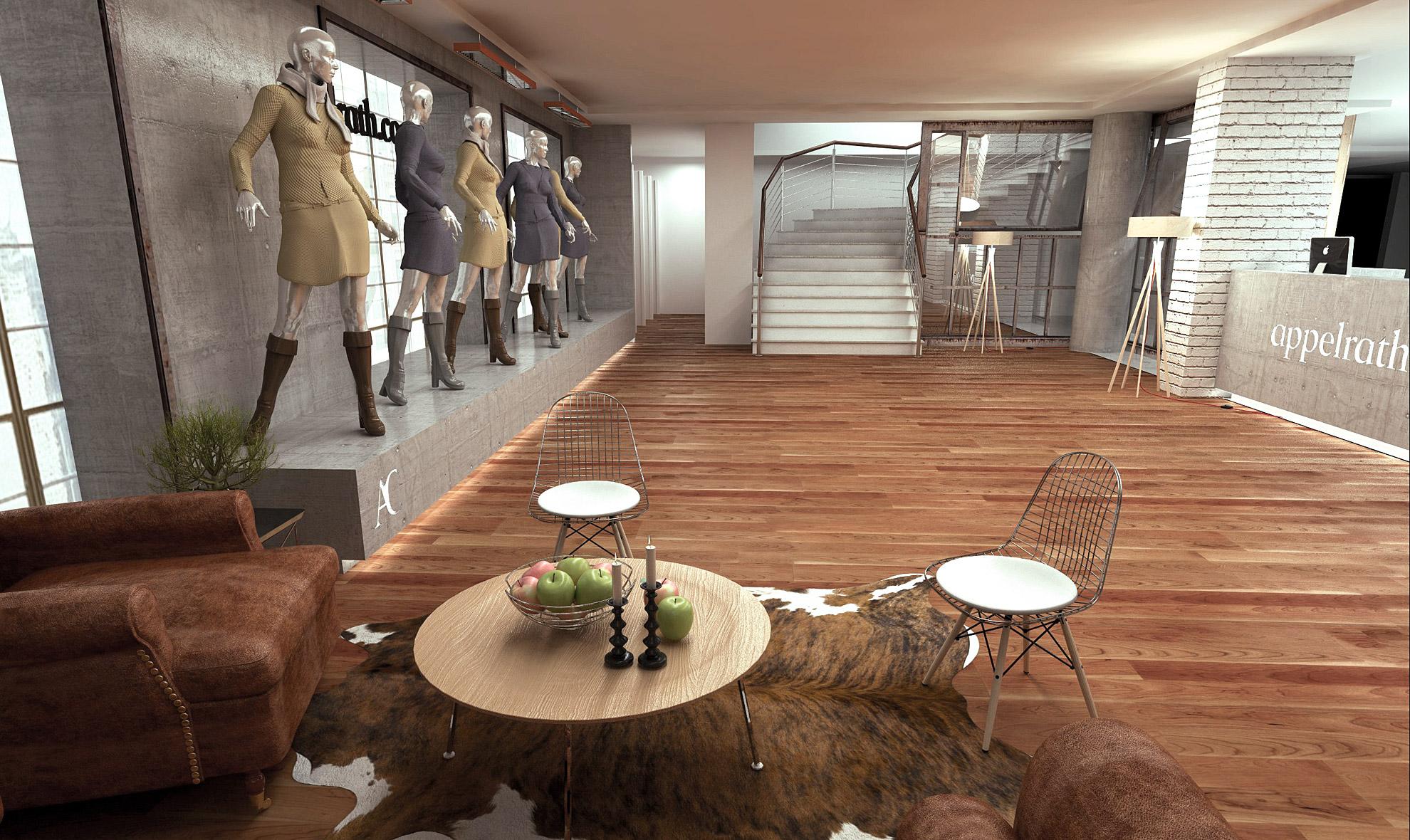 Interiordesign der Agentur TIEFENGRUND